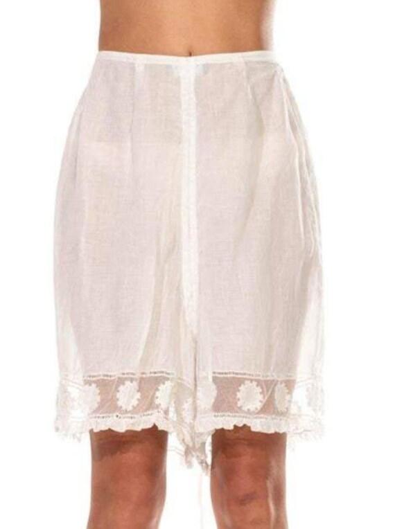 Victorian White Organic Cotton Lawn Couture Finish