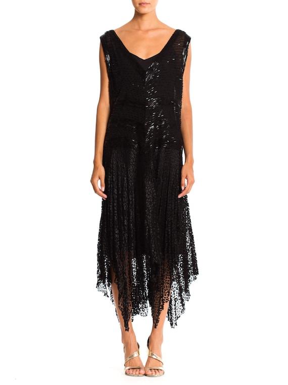1920'S Silk Beaded Lace Dress