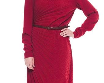 1990-1994  Stimulating Scarlette Margella Pleated Dress Size: S/M