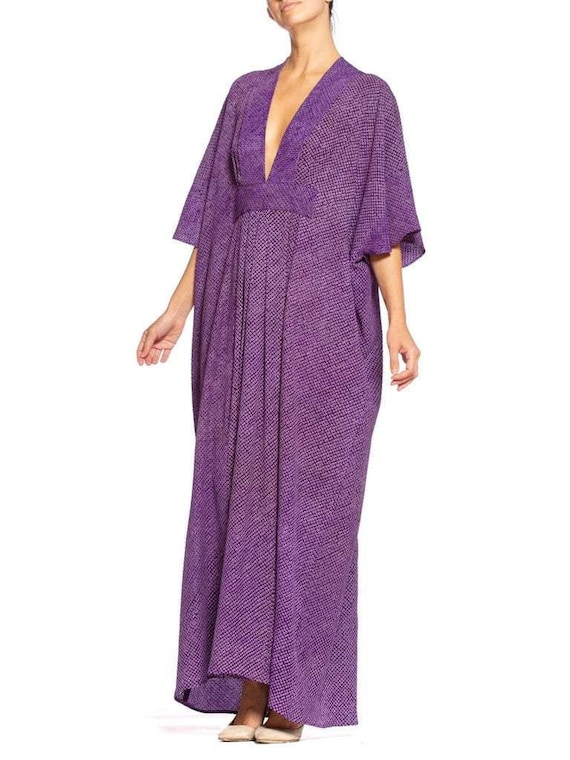 Morphew Collection Kaftan Made From Hand-Dyed Japa