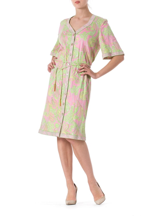 1960s Averardo Bessi MOD Abstract Psychedelic Robe