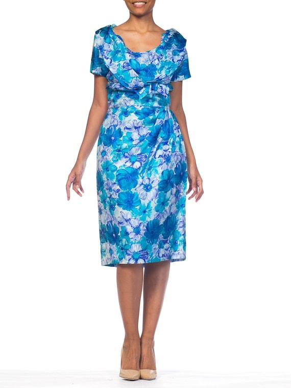 1950S Floral Swing Rockabilly Dress