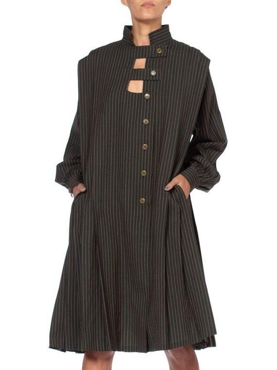 1980's Gucci Wool Oversized Dress