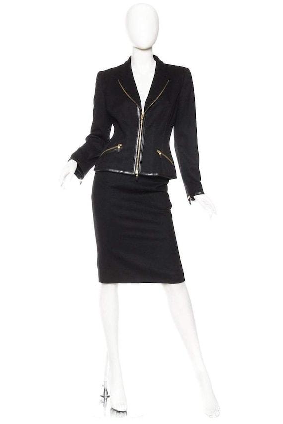 2000S ALEXANDER MCQUEEN Zipper Suit