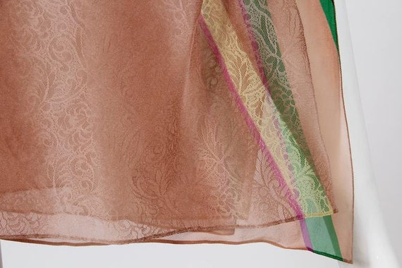 1990s Gianni Versace Couture Backless Sheer Chiff… - image 7