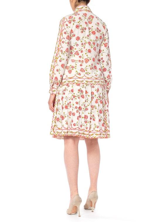 Emilio Pucci Silk Floral Two Piece Skirt Set Size: - image 4