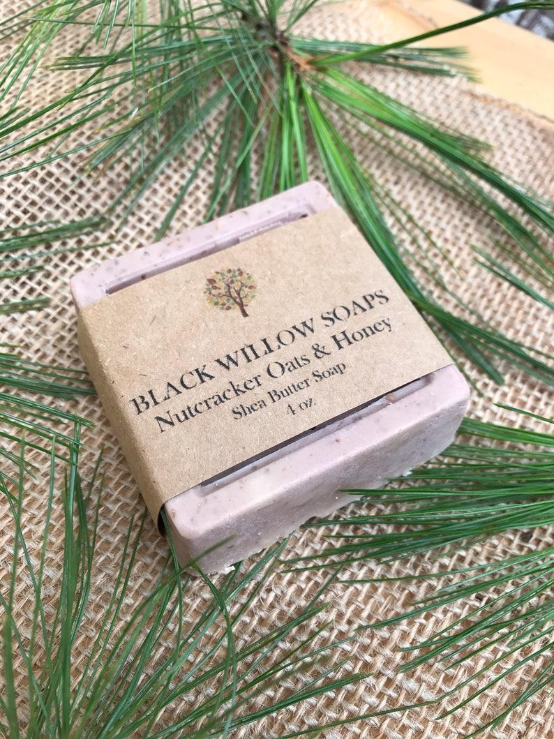 Nutcracker Dry Skin Soap Oatmeal Honey Shea Butter Soap Bar Oatmeal Soap Rash Soap Bug Bite Soap Chicken Pox Soap Eczema Soap