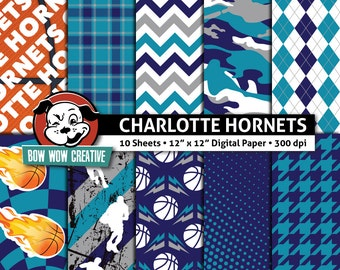 Atlanta Hawks Digital Papers Basketball Atlanta Hawks Etsy