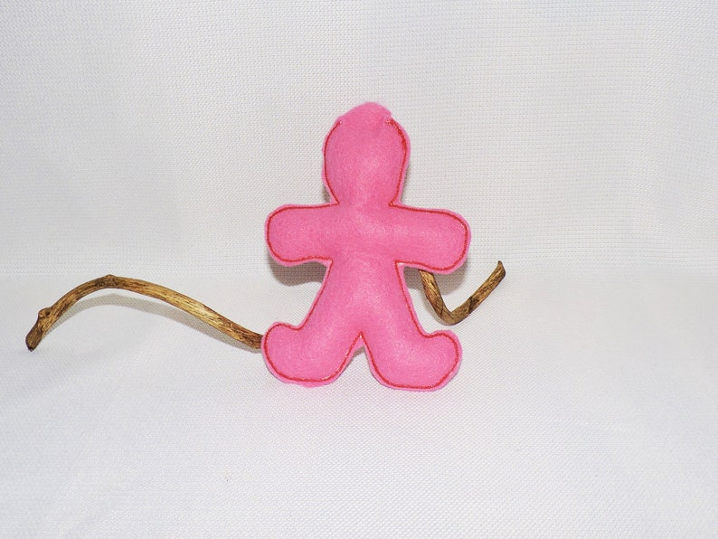 Pink Poppet for Wicca Magic witch witchcraft white magick supplies voodoo  doll wiccan Pagan ritual doll astral projection telepathy