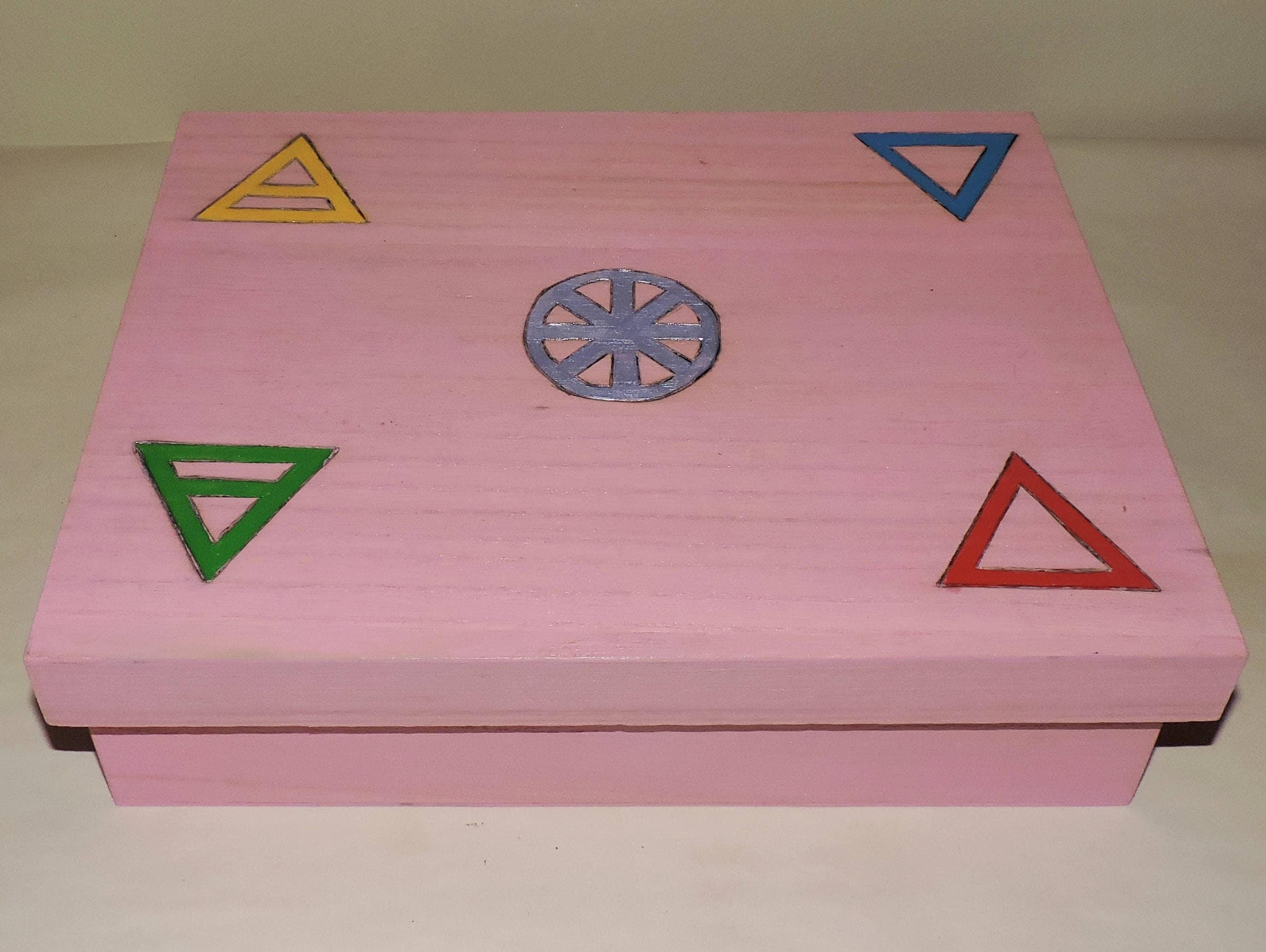 Witch Box Altar Kit White Magic Altar Shrine Wicca Pagan Tools