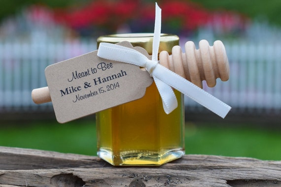 Set Of 24 3 Oz Honey Jars Honey Wedding Favor Bridal Etsy