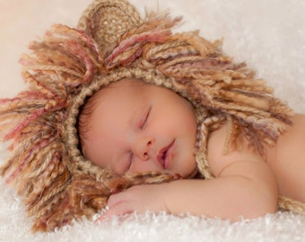 Lion Hat for Baby