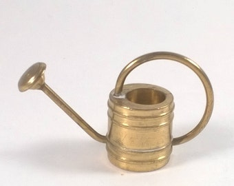 Vintage Miniature Brass Watering Can -  Garden - Doll House Collectables Holland