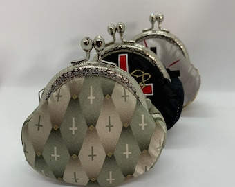 Necktie coin purse, recycle from your own old ties , in memory of him, gift for daughter, holiday gift