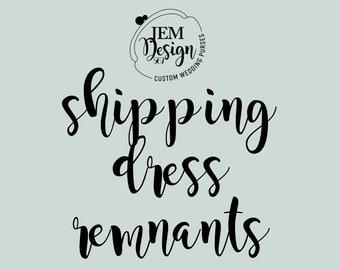 shipping dress remnants for  JAYNE RISK