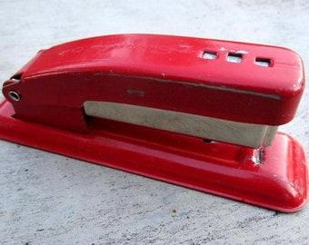 Vintage Red Swingline Cub Stapler