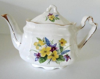 Pottery Arthur Wood Wall Vase Pocket Chamber Vintage Art Deco Quality Arthur Wood Made In England