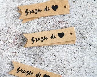 """tags """"Grazie di cuore"""" (10)"""