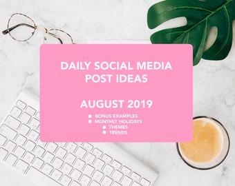 Social media content   Etsy