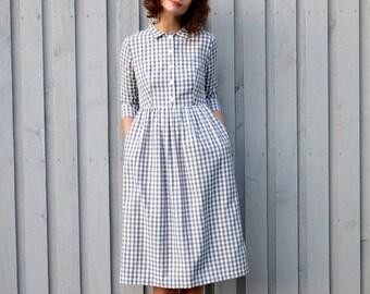 KASI classic shirt dress