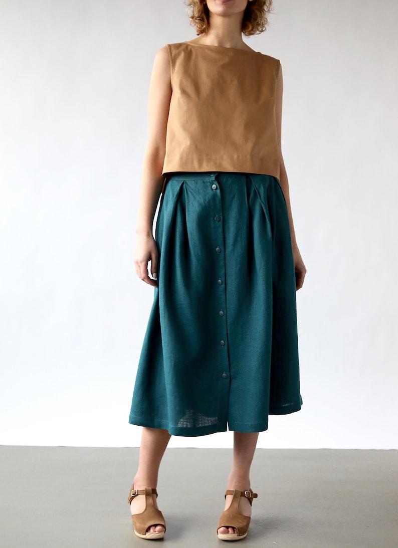 e82965221c Midi Length Full Skirt – DACC