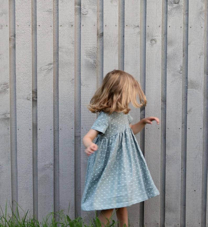 32a8ef2e8dc6c Linen girls Dresses -Linen Girl Dress -Linen Dress - Handmade by OFFON  CLOTHING
