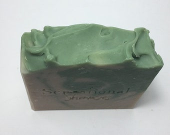 Green Tea Herbal Artisan Soap Bar 5oz