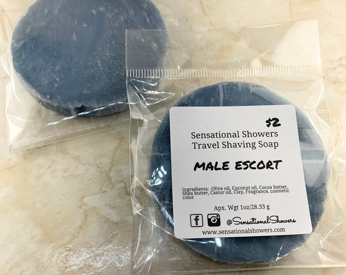 Male Escort Travel Shaving Soap
