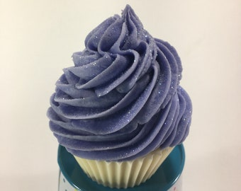 Cupcake Soap in Lavender