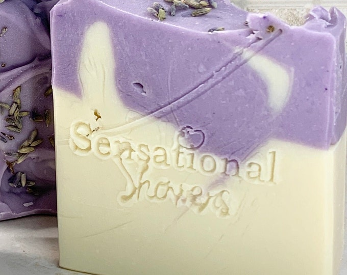 Lavender Buttermilk Artisan Soap Bar