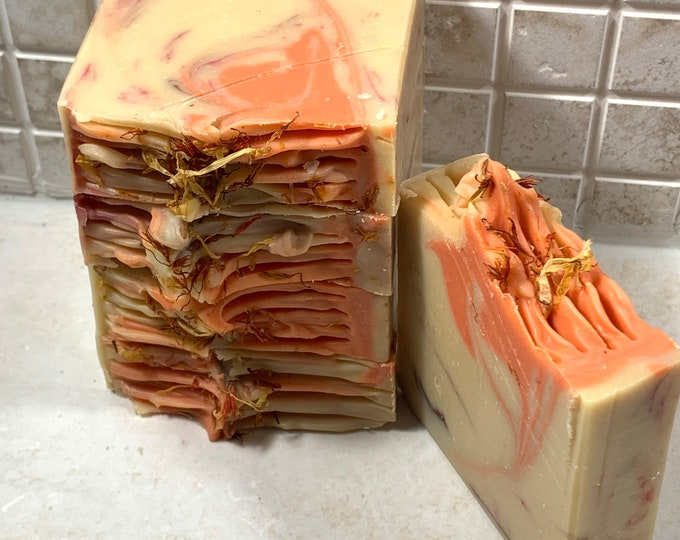 Orange Cinnamon Vegan Artisan Soap Bar