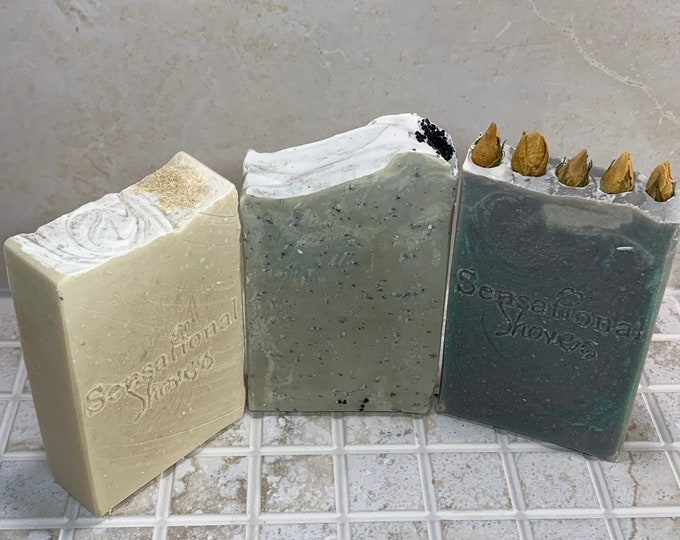 Fragrance Free Milk Soap Bundle