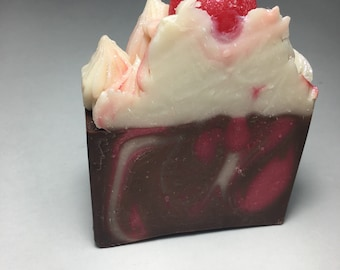 Cherry Almond Artisan Soap Bar