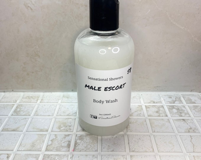 Male Escort Body Wash