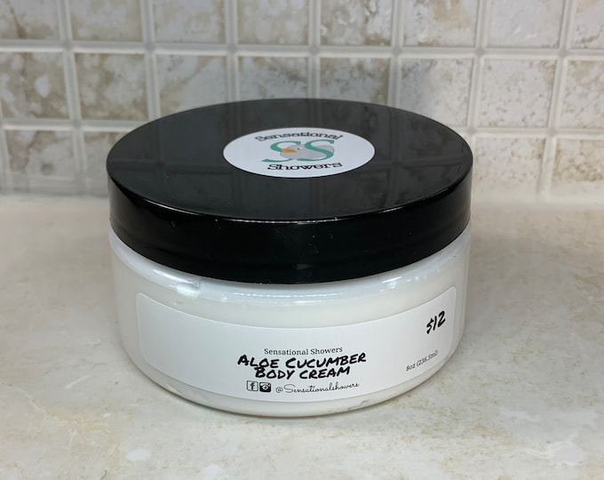 Aloe Cucumber Body Cream