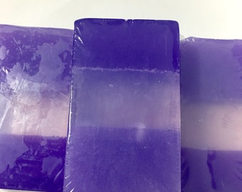 Lavender Crystal Soap Bar