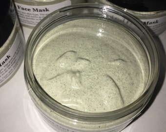 Herbal gel face mask