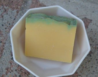 Lemongrass Soy Milk Vegan Soap Bar 5oz