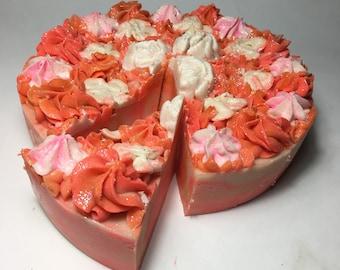 Mango Handmade Soap Cake