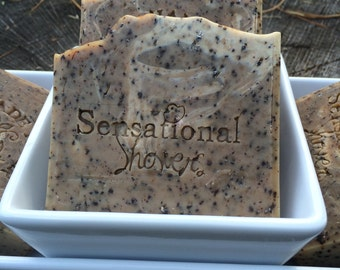 Coffee exfoliating Soap Bar