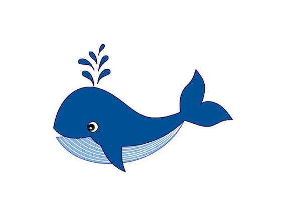 whale clipart digital vector whale sea ocean nautical etsy rh etsy com whale clip art black and white whale clip art for preschoolers