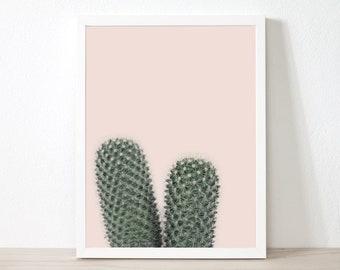 Cactus Decor, Cactus Printable, Cactus Print, Wall Art Prints, Succulent, Cacti, Desert Photography, Digital Download, ec2c