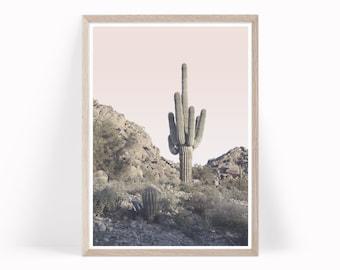 Desert Print, Desert Wall Art, Desert Prints, Desert Decor, Boho Decor, California Desert Photography, Desert Photo, Cactus Photo, c9cp