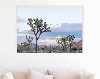 Joshua Tree Print Joshua Tree Photography Southwestern Decor Desert Sunset Art Print Photo California Desert Printable Download jt1c1c1