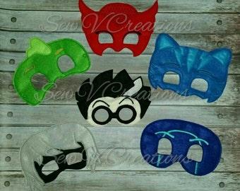 PJ Masks Inspired Masks