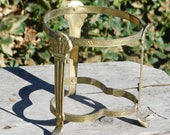 Brass Metal Stand Frame Not sure what for, Pot Stand, Tea pot stand, Crafts, shc