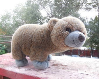 Sweet Little Stuffed Bear Artic Circle Enterprises Inc, Vintage Teddy Bear, Vintage Stuffed Animals, Vintage Toys,