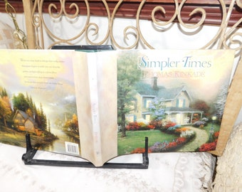 Simpler Times Book By Thomas Kinkade, Encouragement gift Book, Uplifting Book, Vintage Book,