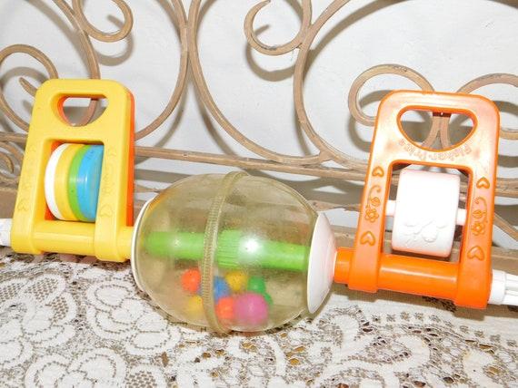 Crib Toy Fisher Price Crib Gym Vintage Crib Toy 1984 Etsy