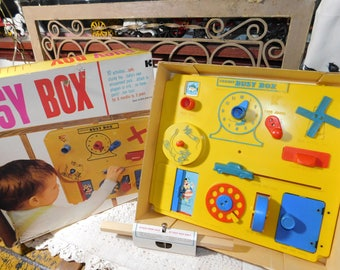 Kohner Busy Box, Crib toy, Baby Toy, Learning Toy, Toddler Toy, Toy in Original Box, :)s**